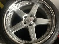 Traffic star split rims for Audi cost £4000+