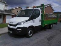 2014/64 Iveco Daily 35S13 LWB DROPSIDE PICKUP TAILIFT