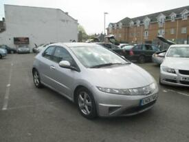 Honda Civic 1.8i-VTEC SE (17in Alloys) Hatchback 5d i-Shift 1798cc
