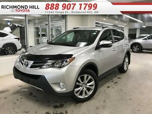2013 Toyota Rav4 Limited  - one owner - local - trade-in - non-s