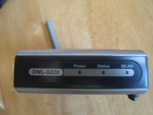 D-Link DWL-G820 Wireless Gaming Adapter