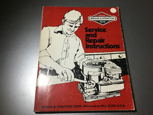 Briggs & Stratton Small Engine Manual Cast Iron & Aluminum