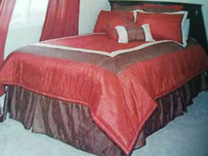 COMFORTER SET FOR DOUBLE BED