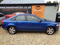 Volvo S40 1.6 2008 S Only 50k Miles 2 OWNER SERVICE HISTORY. LONG MOT.