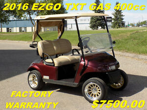 GOLF CARTS - USED & CUSTOM