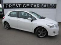 2012 Toyota Auris 1.8 T Spirit 5dr PETROL/ELECTRIC white CVT