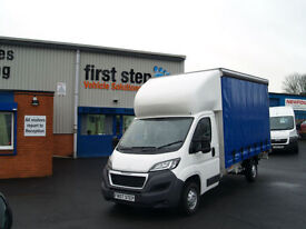 Peugeot Boxer 2.2HDi 130 2014MY 335 L3 Curtainside 4.2M