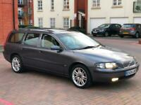 VOLVO V70 2.0 T AUTO SE ESTATE ONLY 55K MEGA LOW MILEAGE HEATED LEATHER SUNROOF