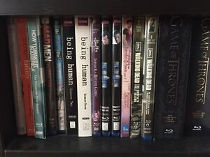 Assorted TV shows on BLU RAY