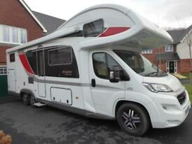 Burstner A747-2G coachbuilt 7 berth rear garage motorhome for sale Ref 13056