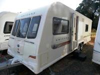 Bailey Unicorn Barcelona 2011 Twin Axle 4 Berth Touring Caravan