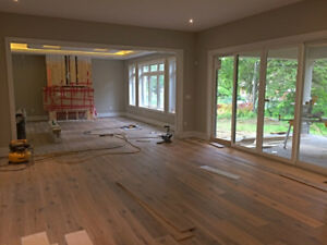 HARDWOOD | VINYL | LAMINATE - INSTALLATION
