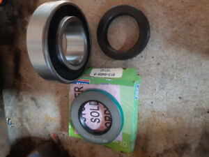 Bearing and seals.