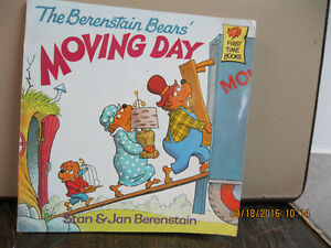 THE BERENSTAIN  BEAR'S   MOVING   DAY   year     1981
