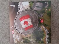 (99.99%)pure Silver Coin 50th Anniversary of the Canadian Flag