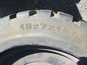 tire avec rim 18x7x12.1/8 (499$ la paire, prix réduit) West Island Greater Montréal image 2