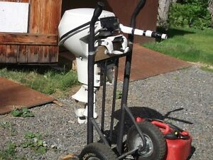 9.5 HP Johnson Outboard Motor