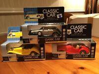 Set of 3 Classic Car Toys