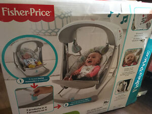 Fisher price deluxe portable swing