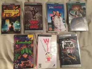 Various PSP Games and Movies