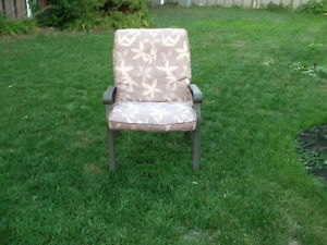 Six patio chairs with cushions Belleville Belleville Area image 1