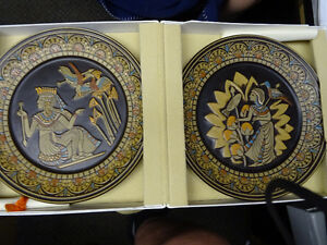 DANBY COLLECTABLE PLATES FRON 1970S EGYPTIAN COLLECTION