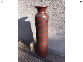 Large Retro Floor Vase - possibly West German