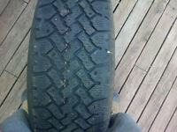 used studed winter tire