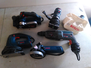 Bosch Power Tools. All for 120$