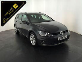 2014 VOLKSWAGEN GOLF GT BLUEMOTION TECH TDI 1 OWNER FULL VW HISTORY FINANCE PX