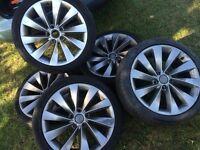 Sirocco vw audi 5x112 alloy wheels