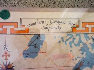 Shipwrecks Map in HEARTBEAT Thrift Store/BayView Mall Belleville Belleville Area image 2