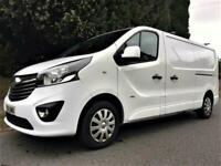 2016 Vauxhall Vivaro 1.6 CDTi Sportive 2900 L2H1 Panel Van + ONLY 77K