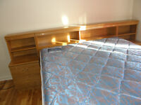 A queen bed room set for sale