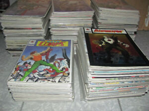 90s indie comics~Bloodshot Harbinger Mantra 350 total all listed