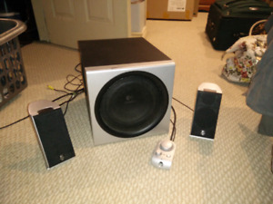 Logitec Computer Speakers with Subwoofer
