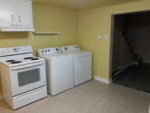 1 Bedroom apartment in a side-by-side duplex for rent.