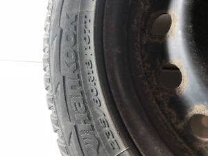 Winter Tires with rims 235/60R18