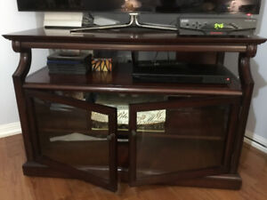 TV stand from Bombay Company