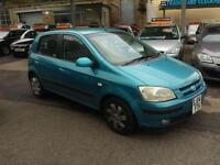 Hyundai Getz 1.1 CDX 5 DOOR - 2004 04-REG - 9 MONTHS MOT