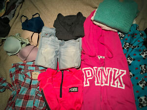 Pink, Hollister,American Eagle clothing