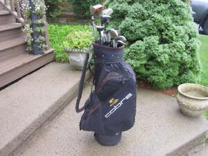 Men's Right Hand 14-pc Golf Clubs Set (Golden Bear M-6) & Bag