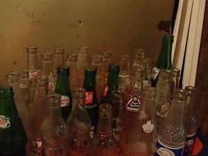 Vintage Pop Bottles