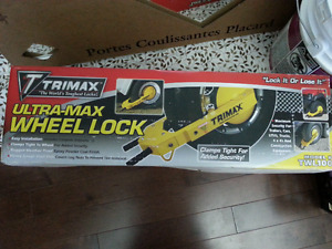 Trimax Wheel Lock (brand new) - Saddleridge- N.E. Calgary