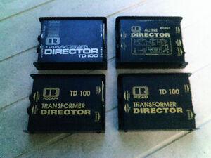 Direct Box Rodam Director TD-100 et AD-101