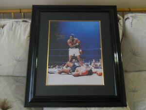 Signed Muhammad Ali/Cassius Clay