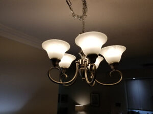 Selling chandelier in excellent condition.