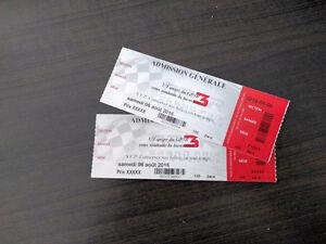 Billet GP3R RallyCross FIA ** Valeur 165$ **