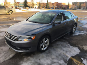 2012 Volkswagen Passat with Low Km, No accidents and One owner.