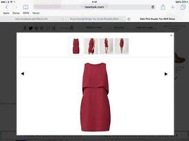 Layered style dress
